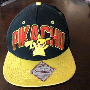 2016 PIKACHU SNAPBACK Baseball Cap